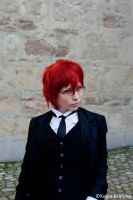 Grell Cosplay - Young Reaper by diriagoly