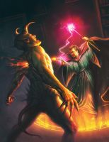 GURPS Magic Cover by robcamp1000