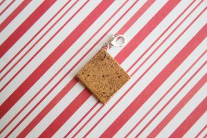 polymer clay graham cracker by l337Jacqui