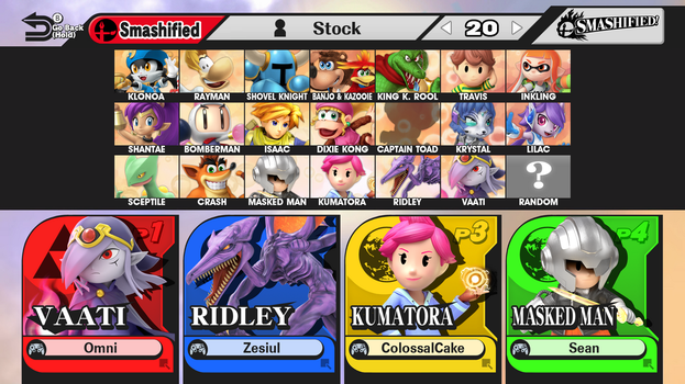 Smashified Roster - Drifter Prepares for Judgement by R-One-92