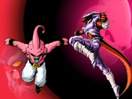 Buu and Janemba 1 by renzoantwan