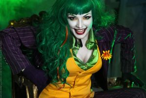 Female Joker cosplay 11 by HydraEvil