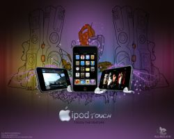 apple ipod touch by injured-eye
