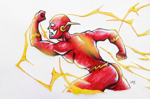 The flash 1 by KrlosKmask