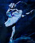 Ballet in Blue by India-Lee