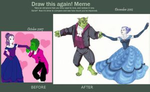 Draw this Again Meme by NevynS
