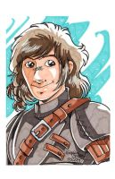 Convention Art - Hiccup by DaphneLage