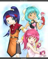 beyblade girls by chrissichan
