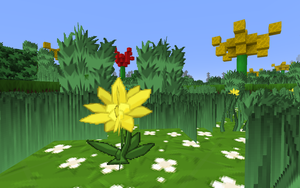 Minecraft Garden Biome by Flexico