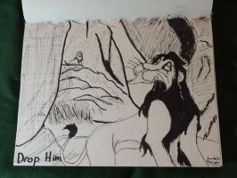 My lion king drawing by TheRealSexyKate