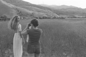 Caitlin and Rachel in the field by JordiTrenzano