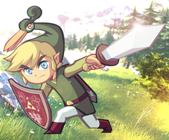 The Legend of Zelda - The Minish Cap by C-Jean