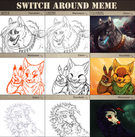 Switch Around Meme by Zietro