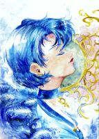 Sailor Mercury by Spelarminlind