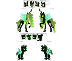 Green Changeling Hive Adopt CLOSED by Rabbidsquierrel
