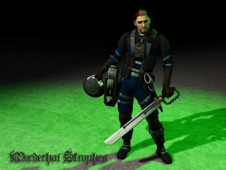 Rogue Trader - Mordechai Strophes, Imperial Pilot by Hellwolve