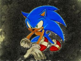 Go Sonic !! by DarkGamer2011