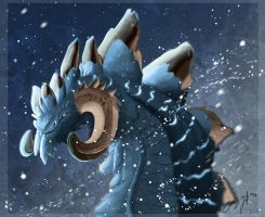 Ice Dragon by SunStateGalleries