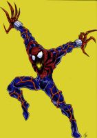 SpiderCarnage COLORED by EvilHayato