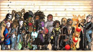 BlackGuard: Psycho Therapy Height Chart by suicidalassassin