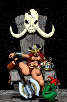 Barbarian queen by ThaneBobo