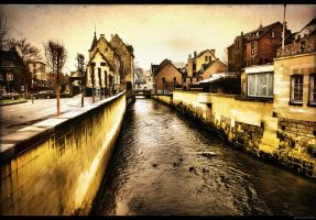 Geul in Valkenburg, Netherlands by Autlaw