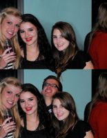 Photobomb fixed: Party people by drowe1016