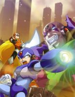 Megaman X Collection _poster by zxchriszx