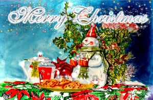Christmas card 2012 by Robert-Clell-Asher