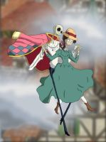 Jack's Moving Castle by WaterLily-Gems