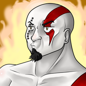 Kratos is not pleased