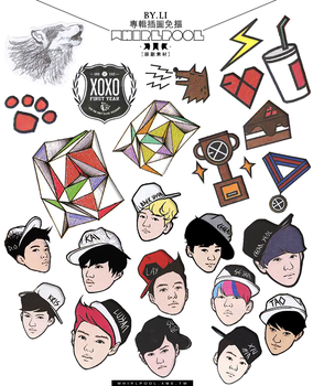 EXO's / SHINee's Albums Png by ll5042026
