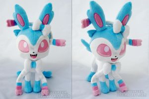 Shiny Sylveon by PlanetPlush