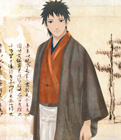 Obito: Traditional japanese style by Lesya7