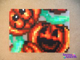 Pumpkin Bunch ATC by SerenaAzureth