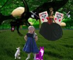 Alice In Wonderland by Maggot-of-the-form