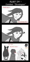 RWBY 4Koma 4 - Combat 'Strategies' by Steel--The--Gamer