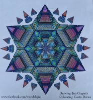 Colourful Star Mandala by Mandala-Jim
