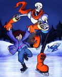 UT: Skatin' On the Ice by BechnoKid