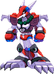 Magma Dragoon - Megaman X - Another Shading by RamzaNeko