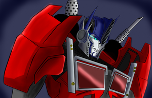 Optimus Prime by arceeenergon