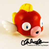 Cheep Cheep custom LPS by thatg33kgirl