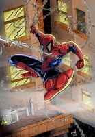 Spiderman by Rexbegonia