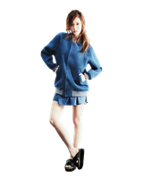 [PNG38] SNSD's Jessica for Harpers Bazaar 03 by exotic-siro