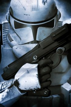 Star Wars- ROTS- Clone Trooper Phase II Art by paintpot2