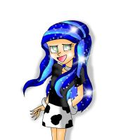 Humanized Milky Way Requested From Krazy Kari by dsargentX