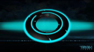 Tron Legacy Widescreen Wall by sohansurag