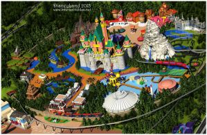 Disneyland 3D Stage1 by zoomzoom