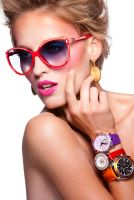 Beauty and Watches Editorial I by DavidBenoliel