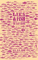 Lies And Fish Gig Poster by goodmorningvoice